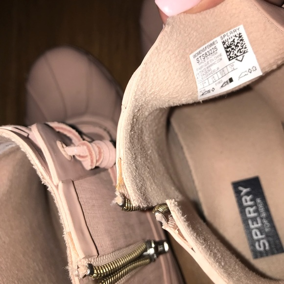 Sperry Shoes | Blush Pink Duck Boots